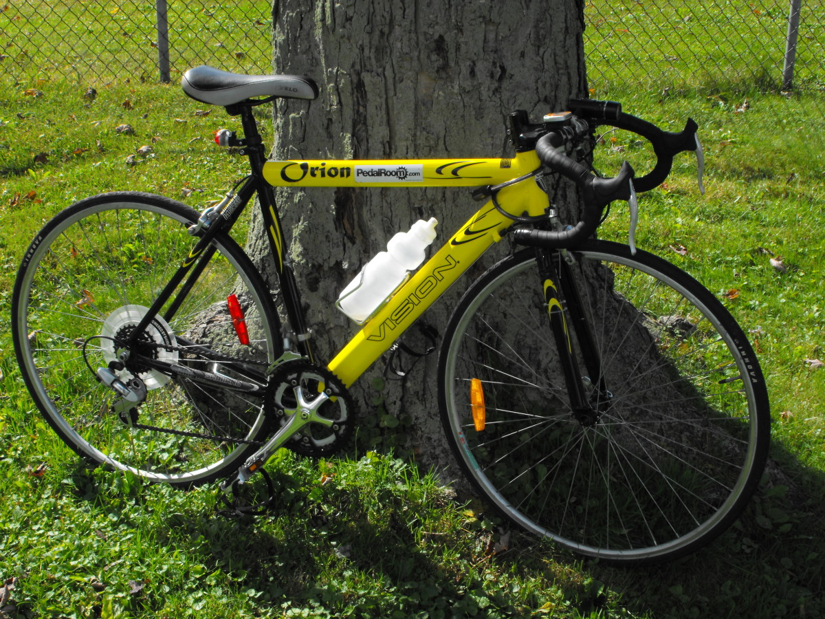 The bike in the fall of 2011.