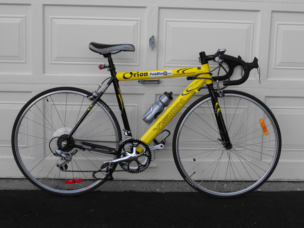 The bike in 2010 after one year of use.