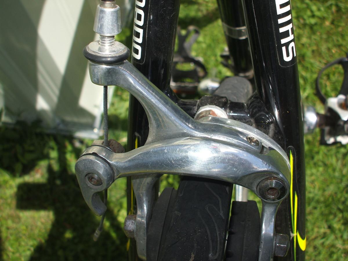 Brake detail picture.