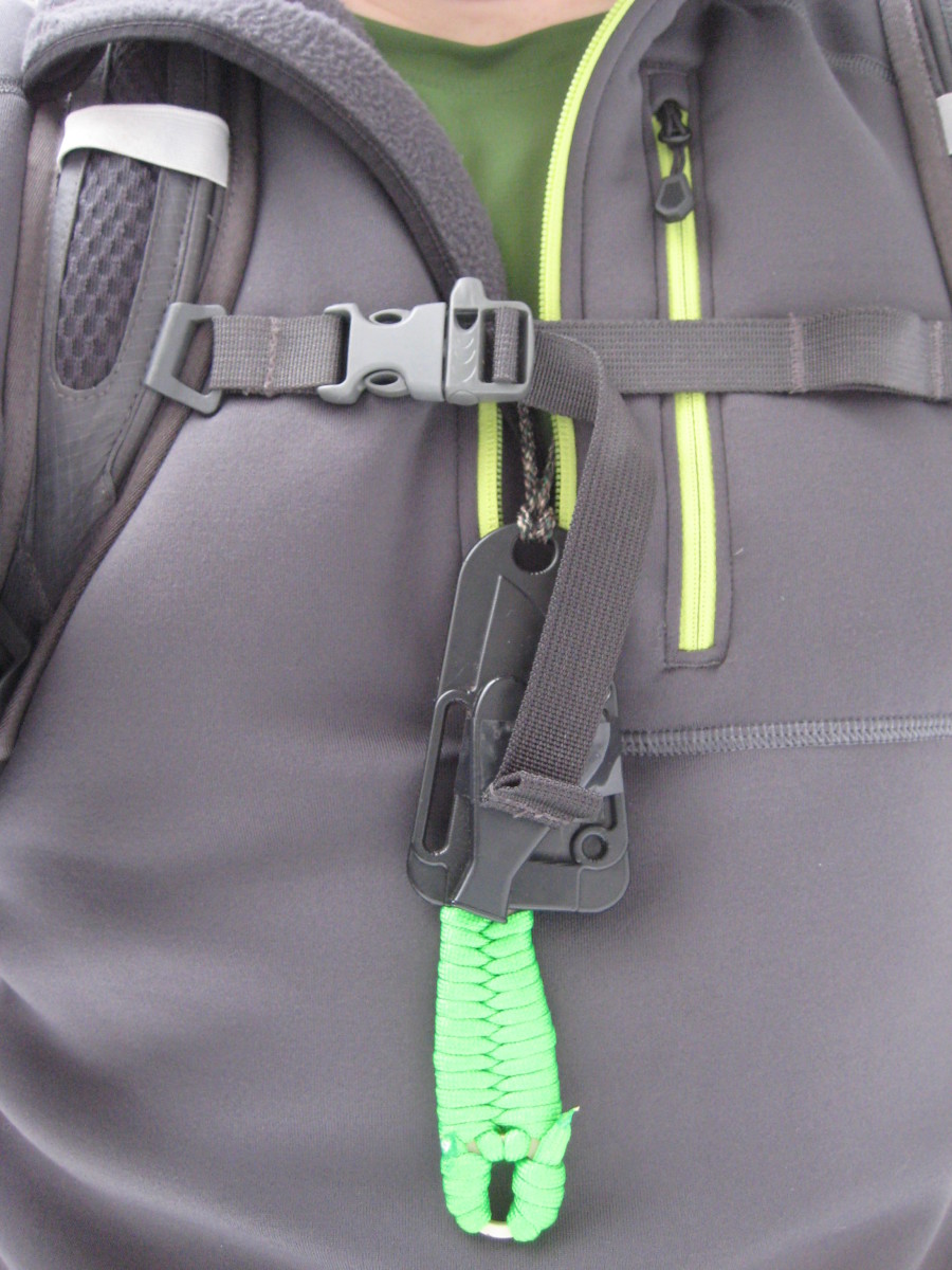 Since this incident, no backpacking gear list is complete without a handy neck knife.