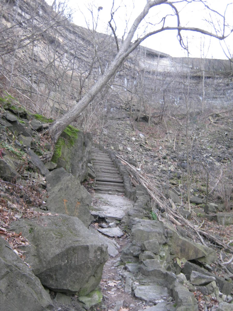 The Devil's Hole Stairs.