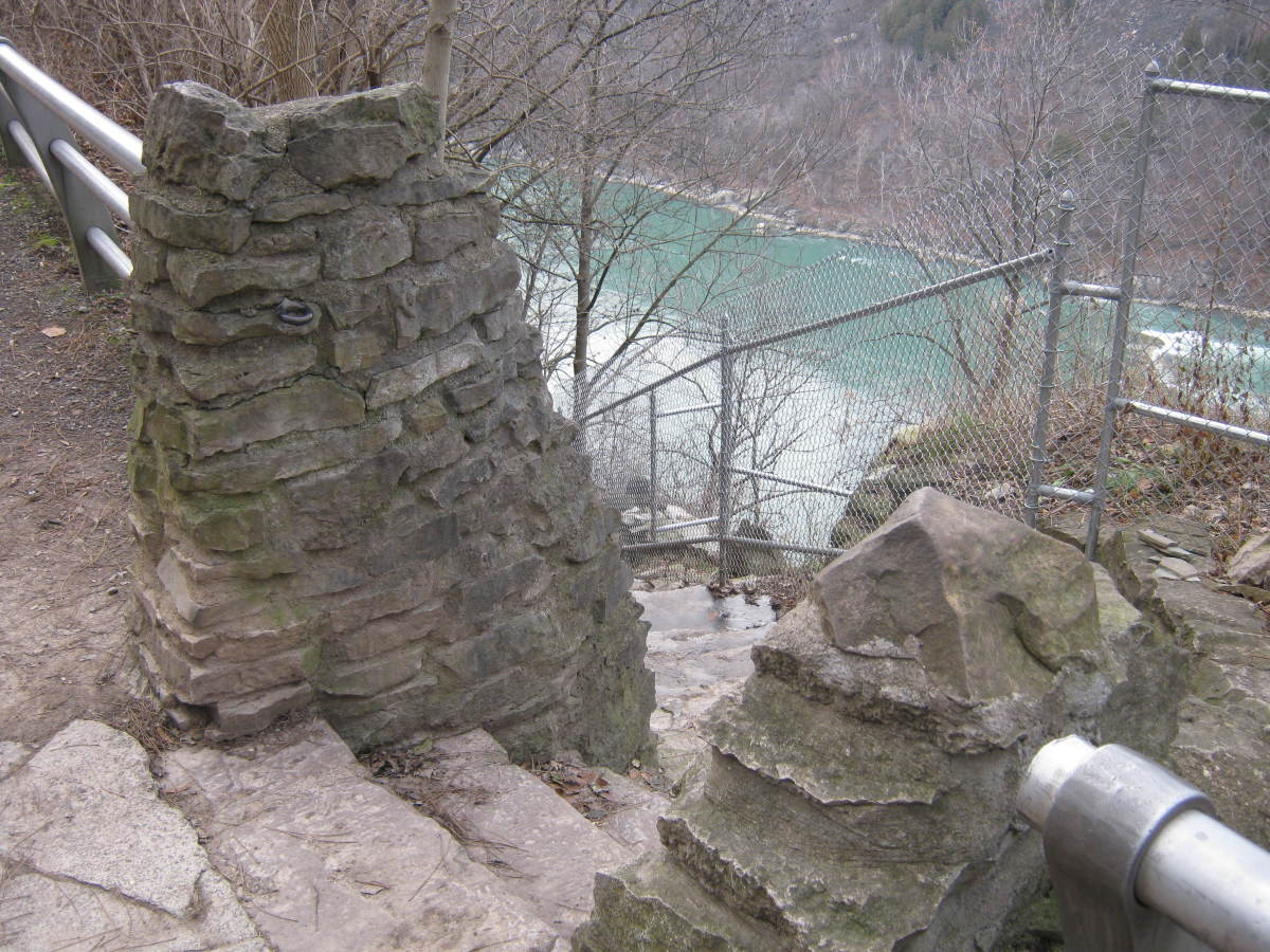 Top of the Whirlpool Stairs