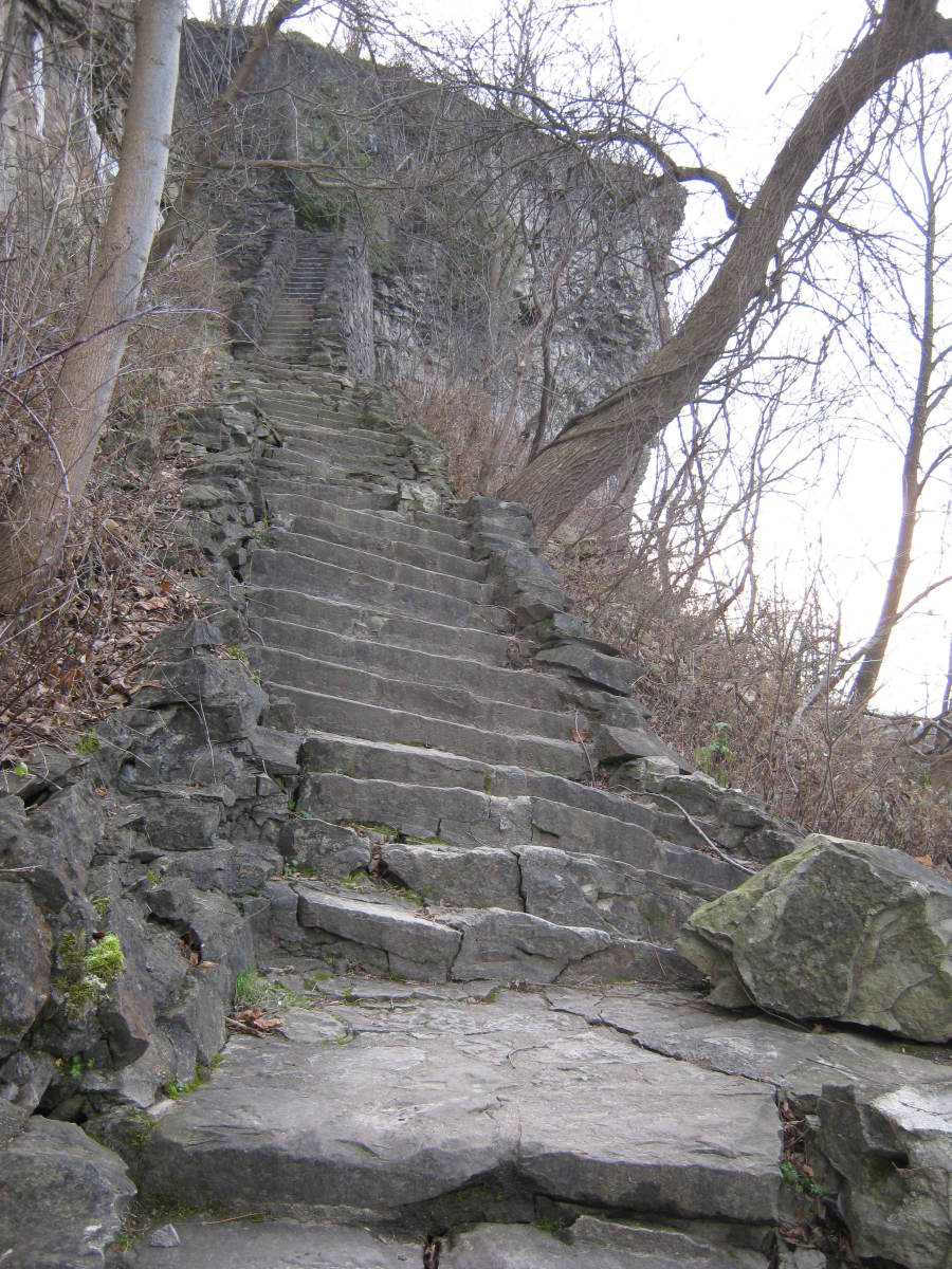 Part of the Whirlpool stairs.