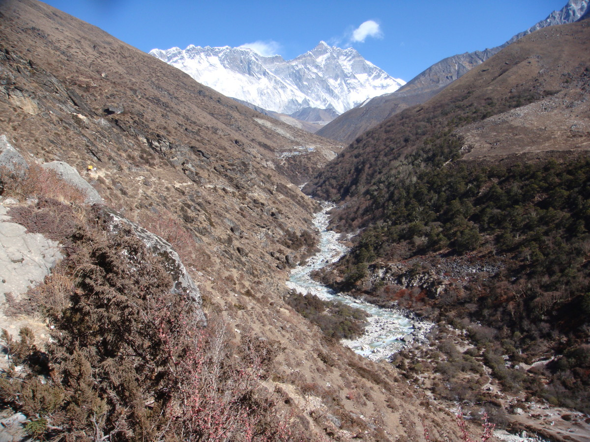 A long winding way to Everest