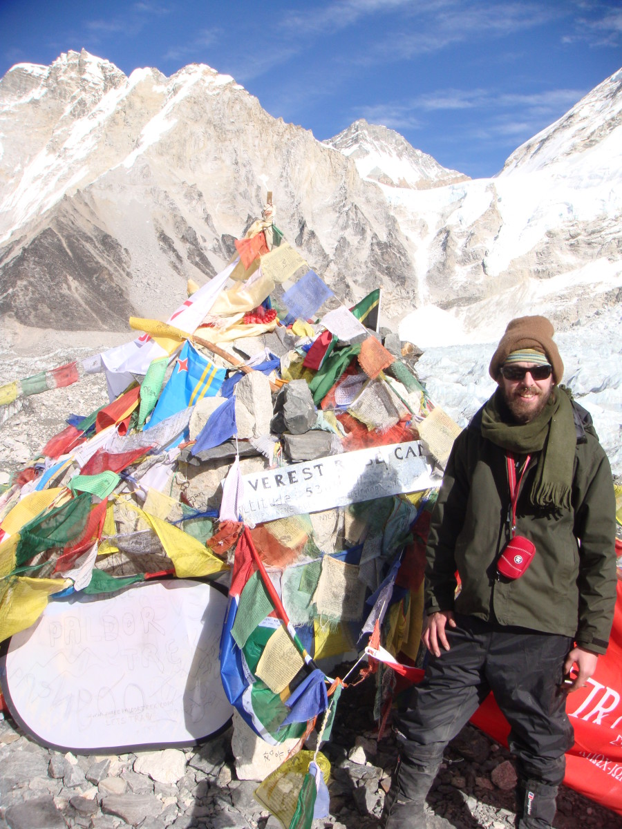 Everest Base Camp! (5,364m)