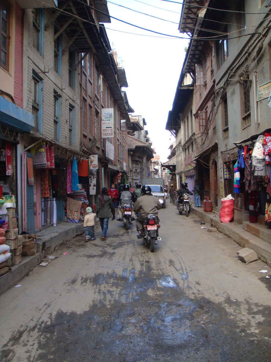 Check out the shops and stores as you wind through the narrow streets