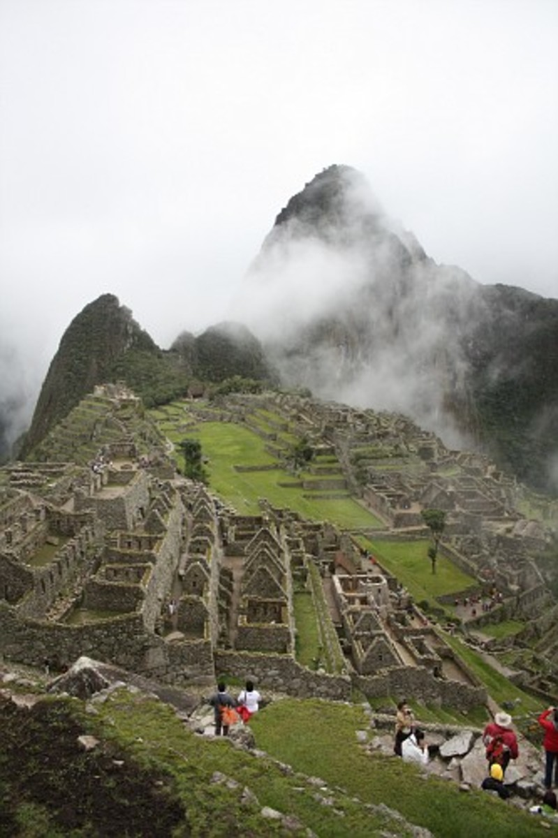 On Day 4 we finally made it Machu Picchu