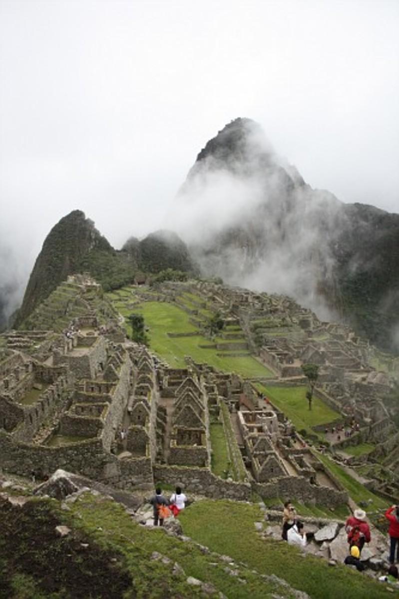 On Day 4 we finally made it Machu Picchu
