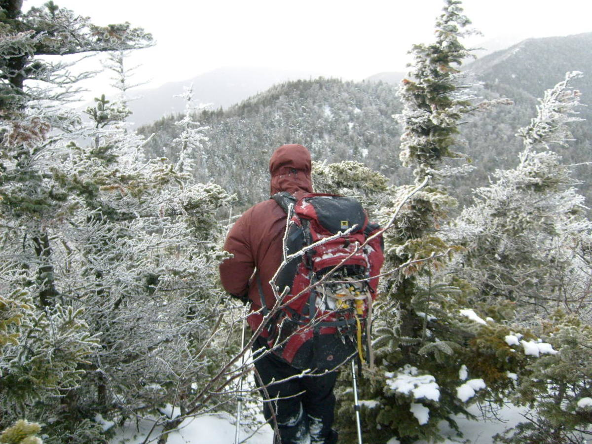 "The conditions change quickly in the mountains, so remember to ""be prepared."""