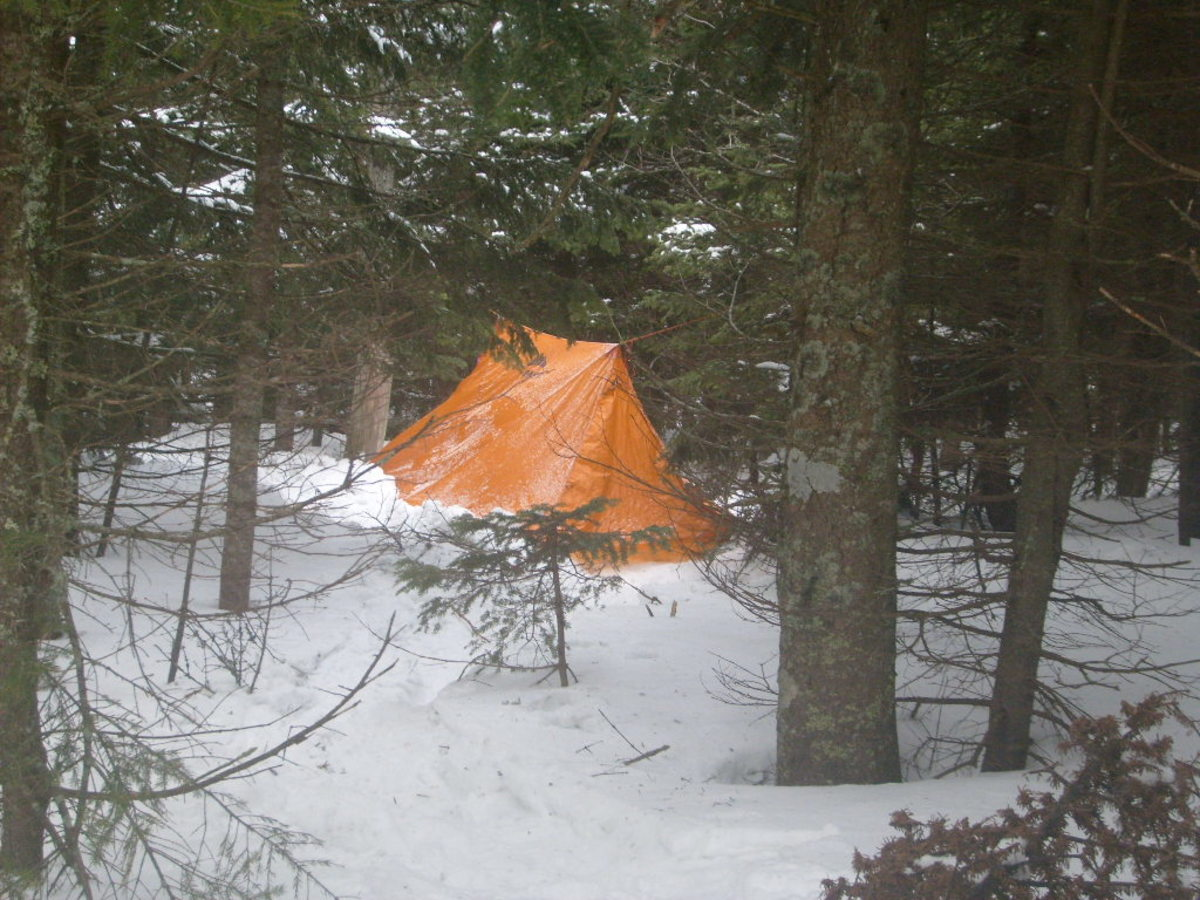 The MSR twinpeaks is an outstanding lightweight winter shelter for two people.