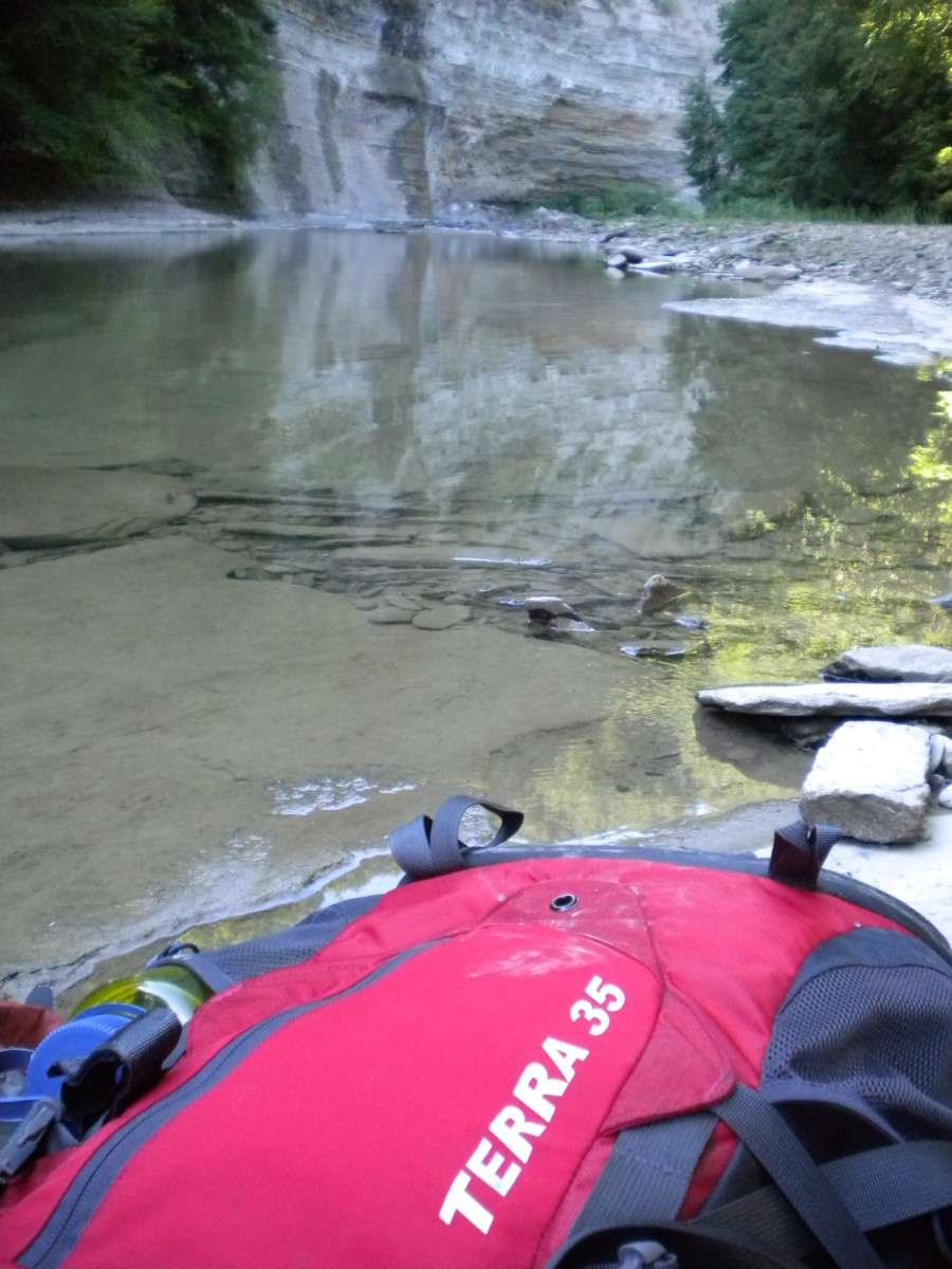 The Terra 35 while on a SAR patrol down in Zoar Valley.