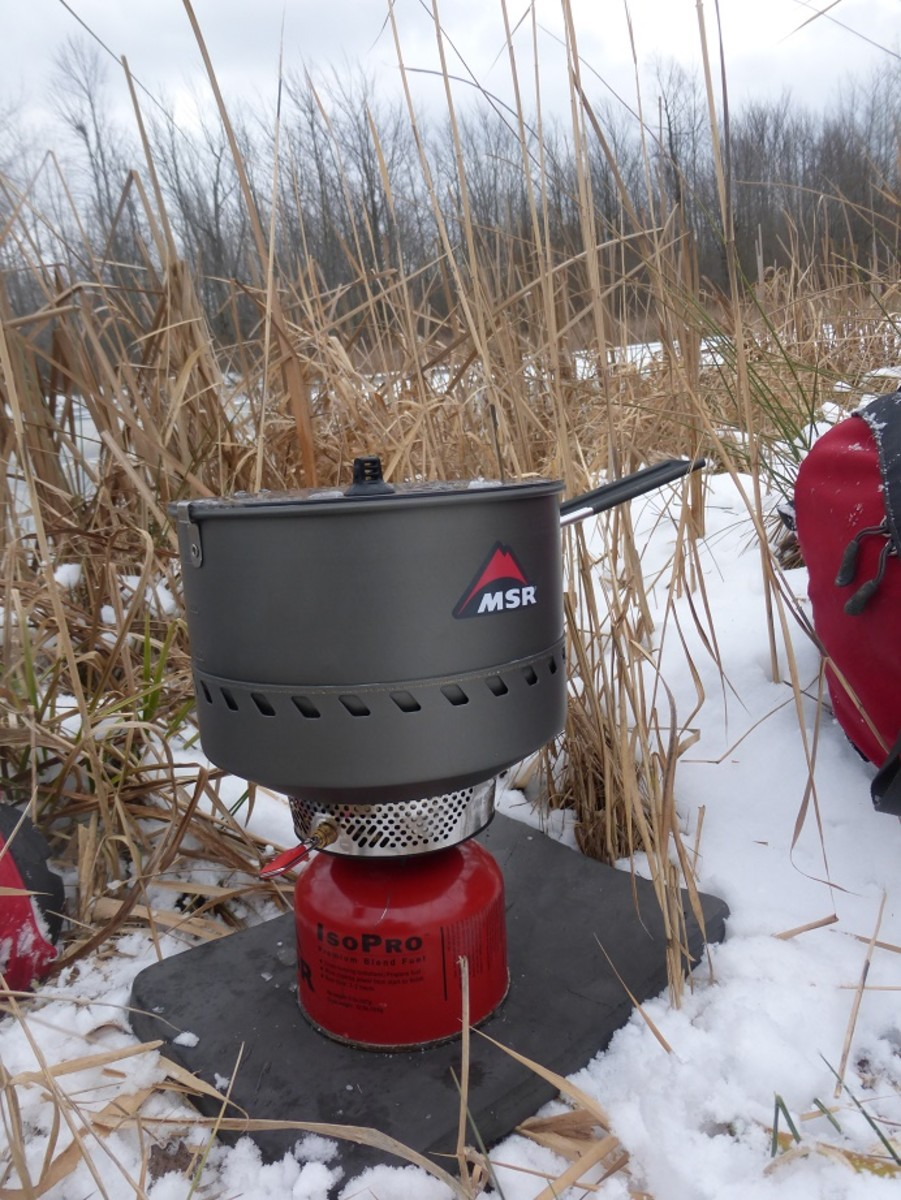 Though liquid fuel stoves tend to fair better in colder weather, the MSR reactor is a snow melting powerhouse.