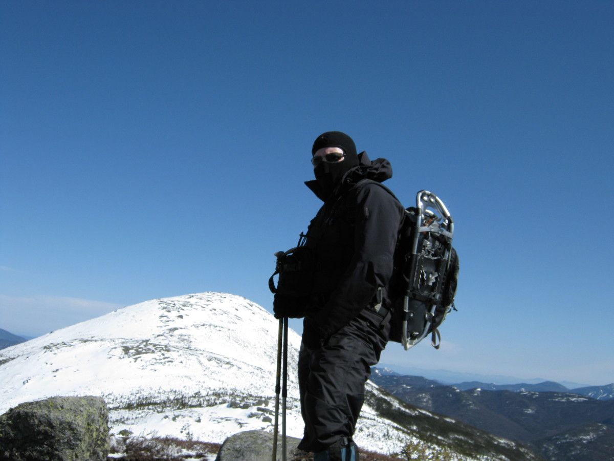 If you are planning on going above treeline and plan on switching into crampons, make sure you bring straps to secure your snowshoes to your pack.