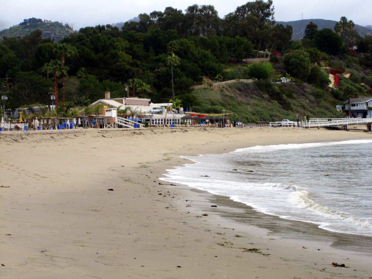 Visit Paradise Cove before or after your hike in Solstice Canyon.