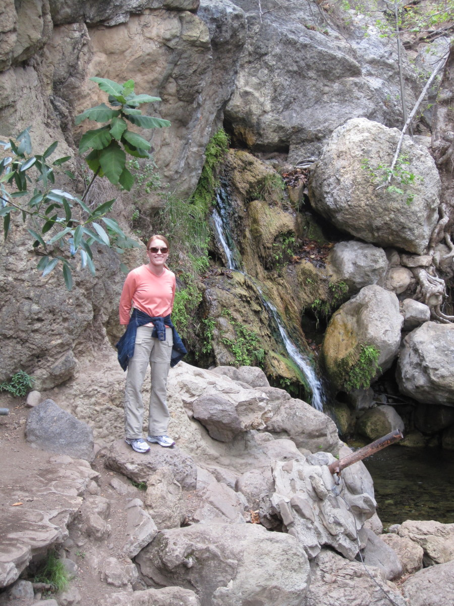 Solstice Canyon has one of the few year-round waterfalls in the recreation area.