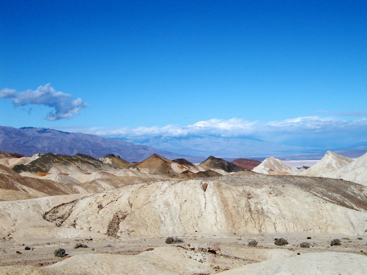 20-Mule Team Canyon Drive. Death Valley, California.