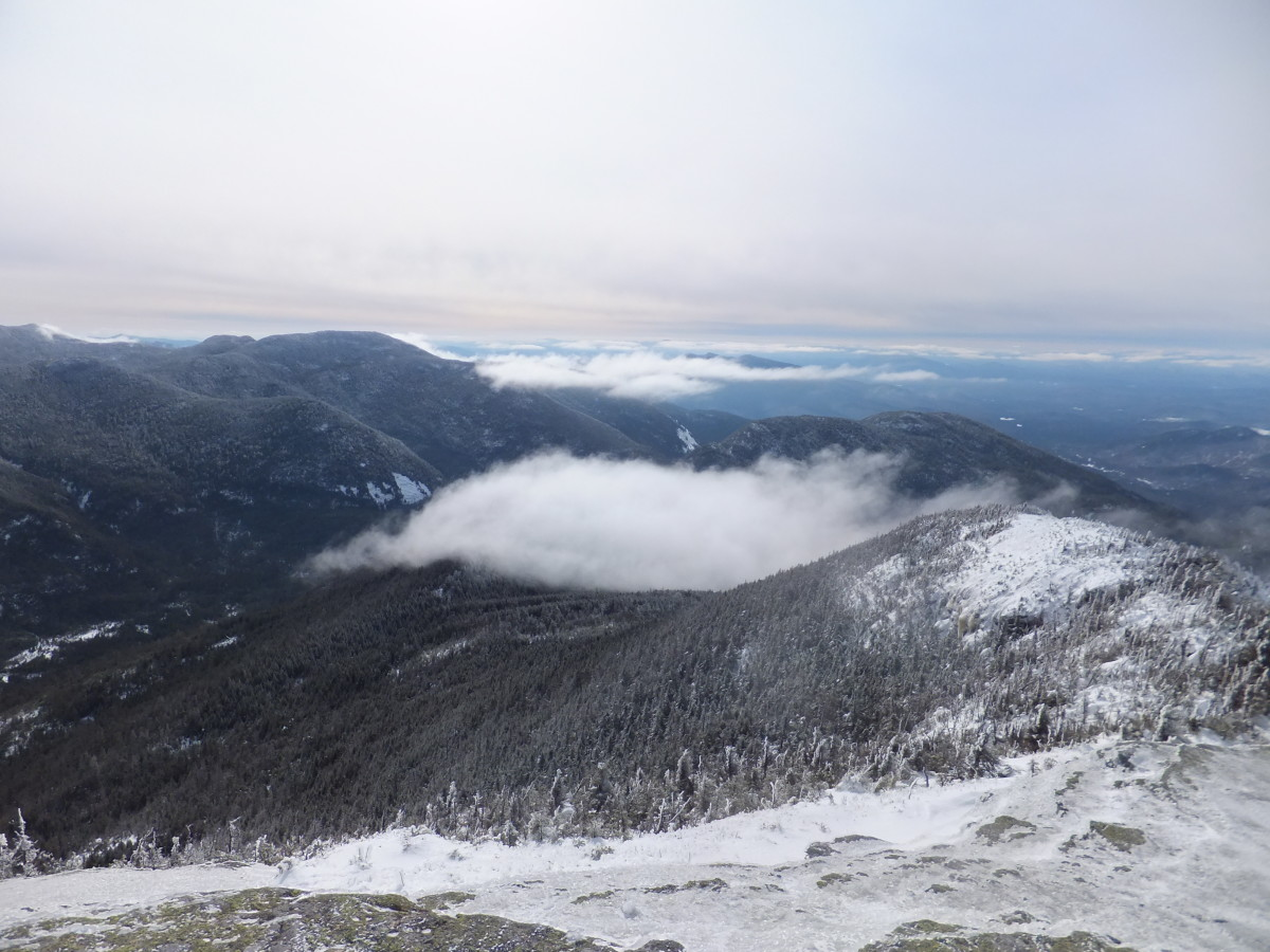 Looking South from Colden's summit.