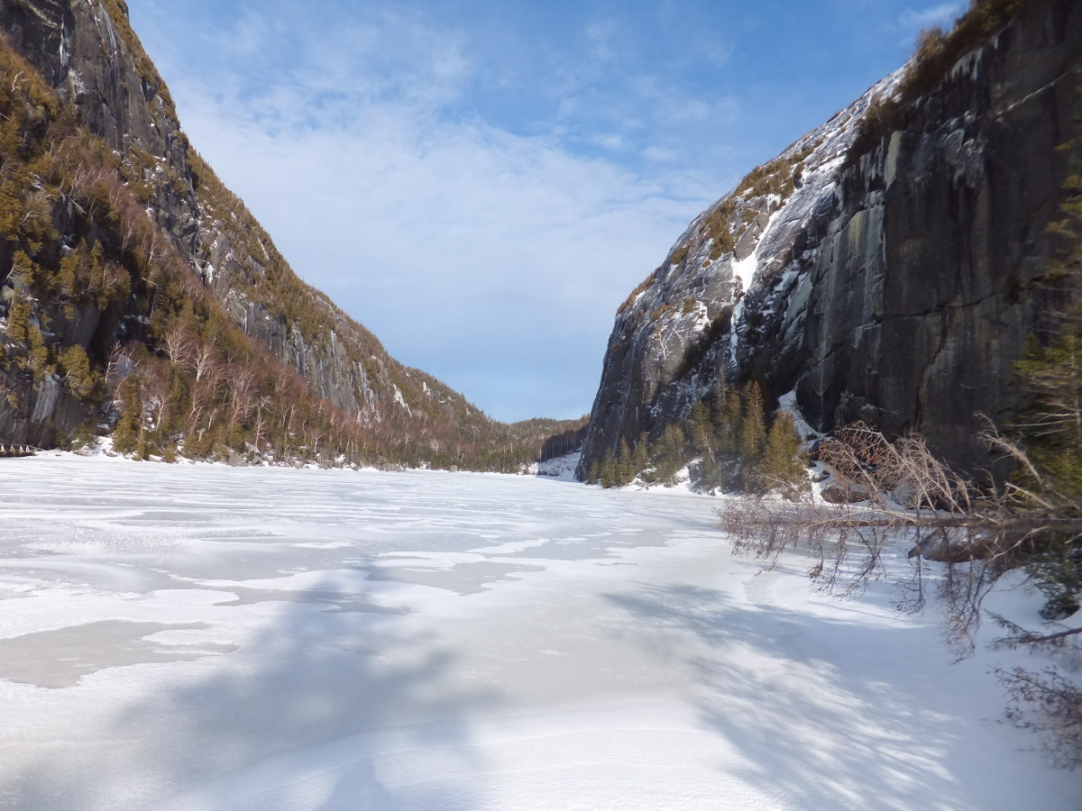 Avalanche Lake is one of the most beautiful spots in the Adirondack Park.