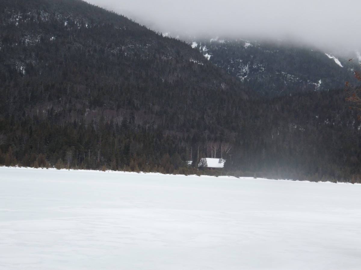 Lake Colden Interior Ranger Cabin - what a great place to work.