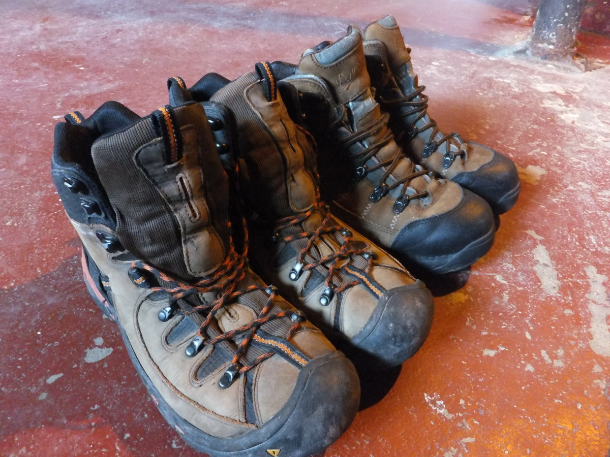 Heavyweight selections from Danner and Keen