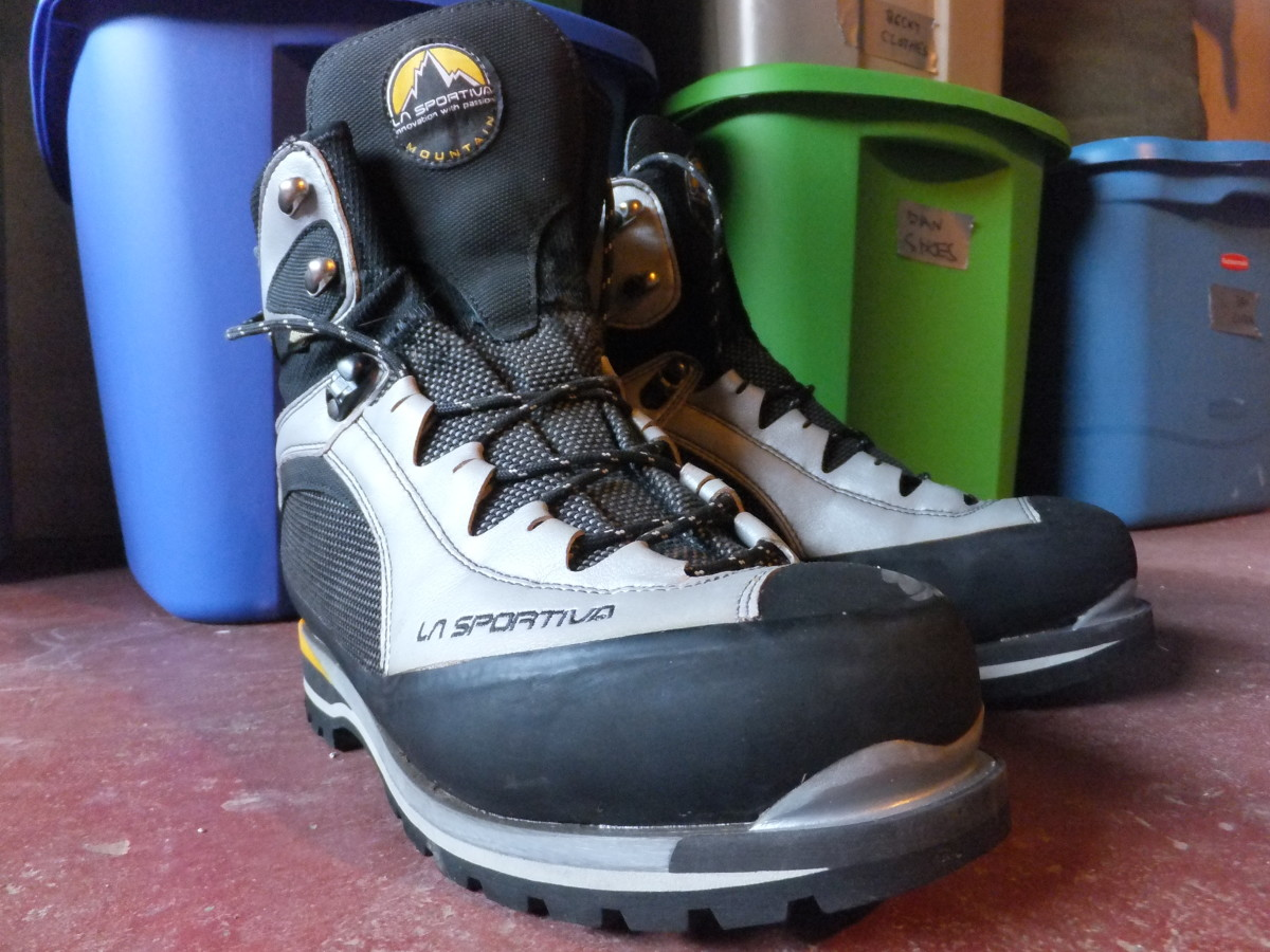 Mountaineering boots from La Sportiva