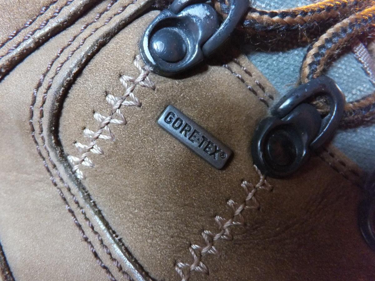 Gore-tex footwear is waterproof and breathable