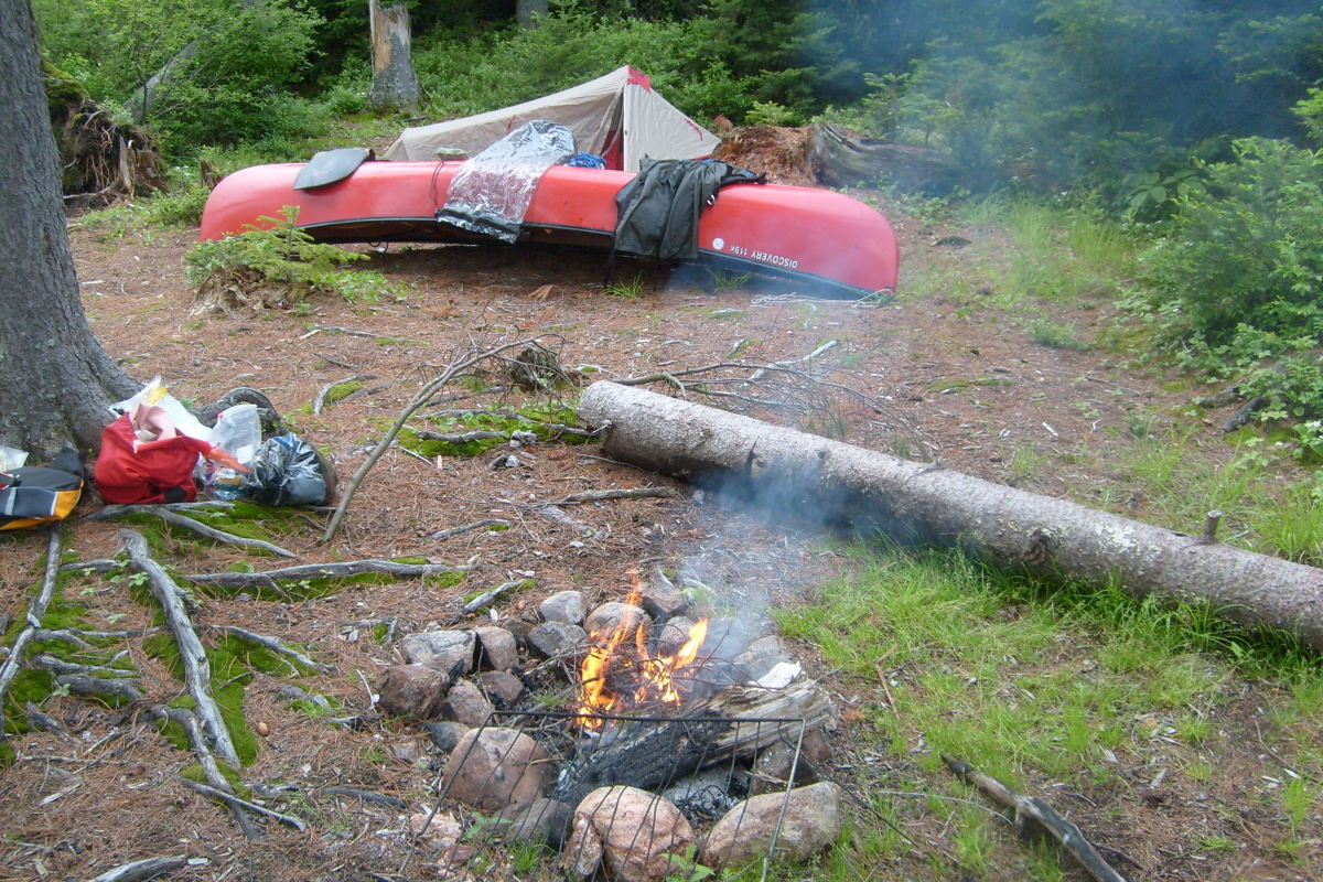 Explore backcountry lakes and rivers by canoe camping!