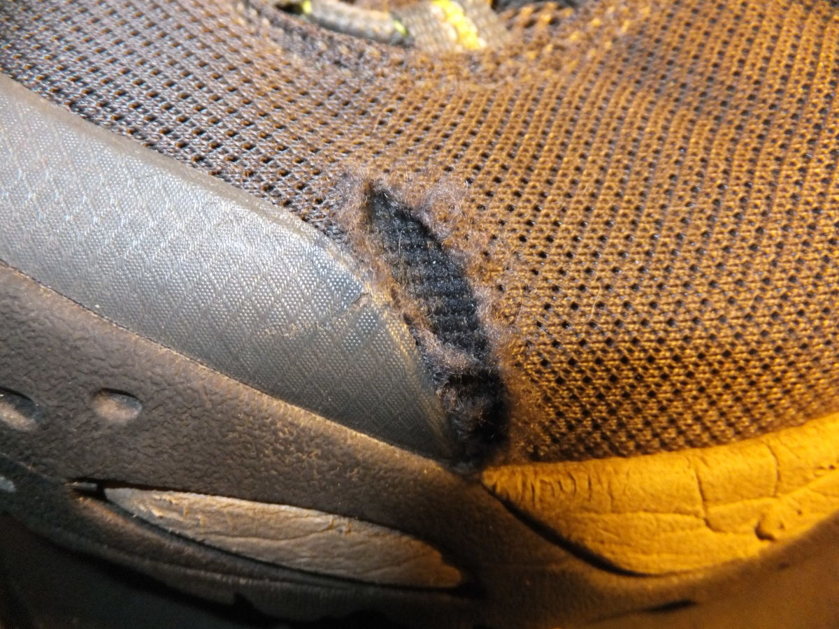 If you kick a hole in your boot, it may not be covered by a warranty.