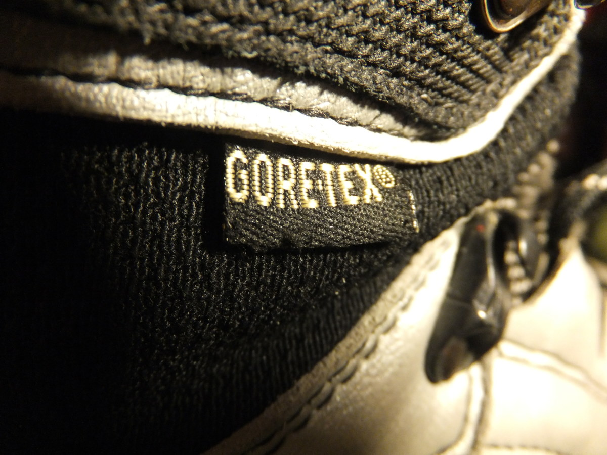 You have to love the Gore-tex guarantee.