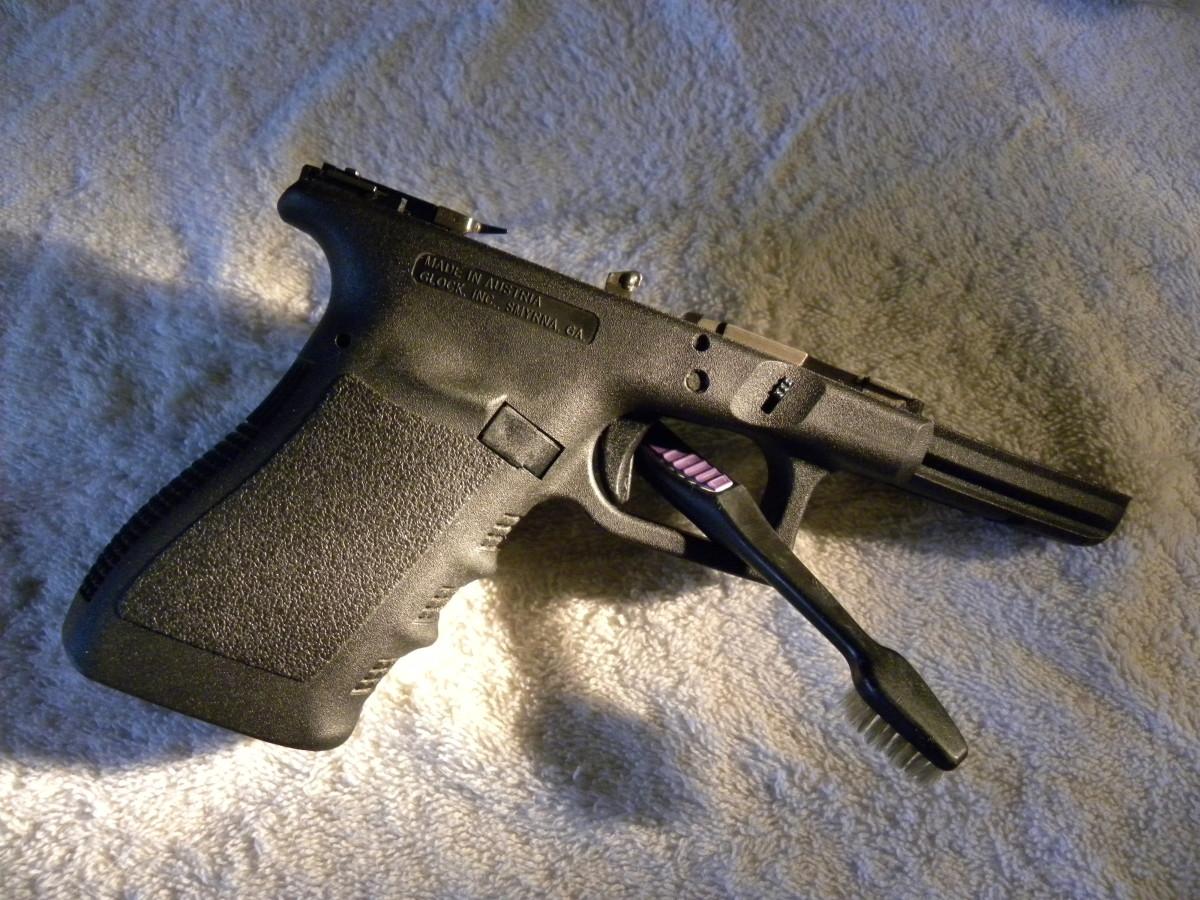 3rd Generation Glock 21 frame