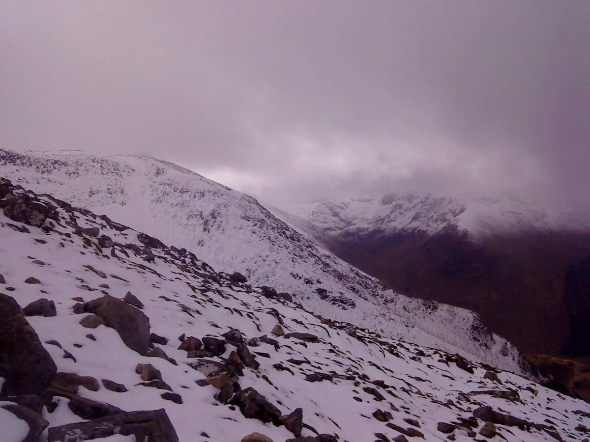 The southern side of Glen Nevis.