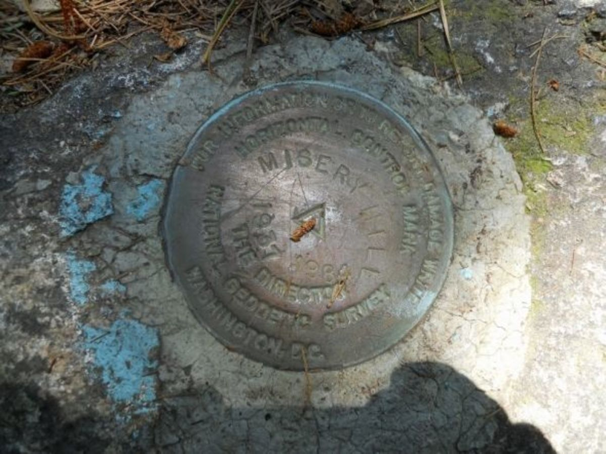 National Geodetic Survey Mark