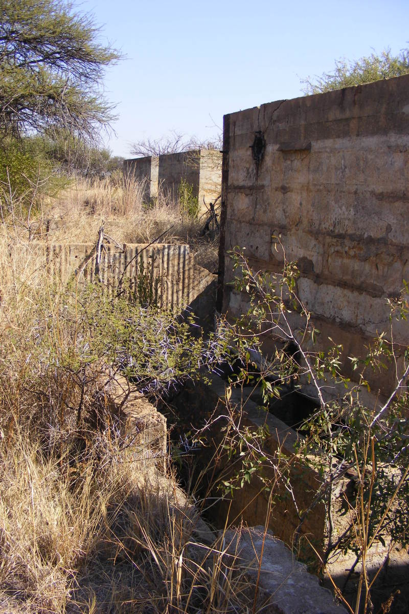 Ruins of the reduction works