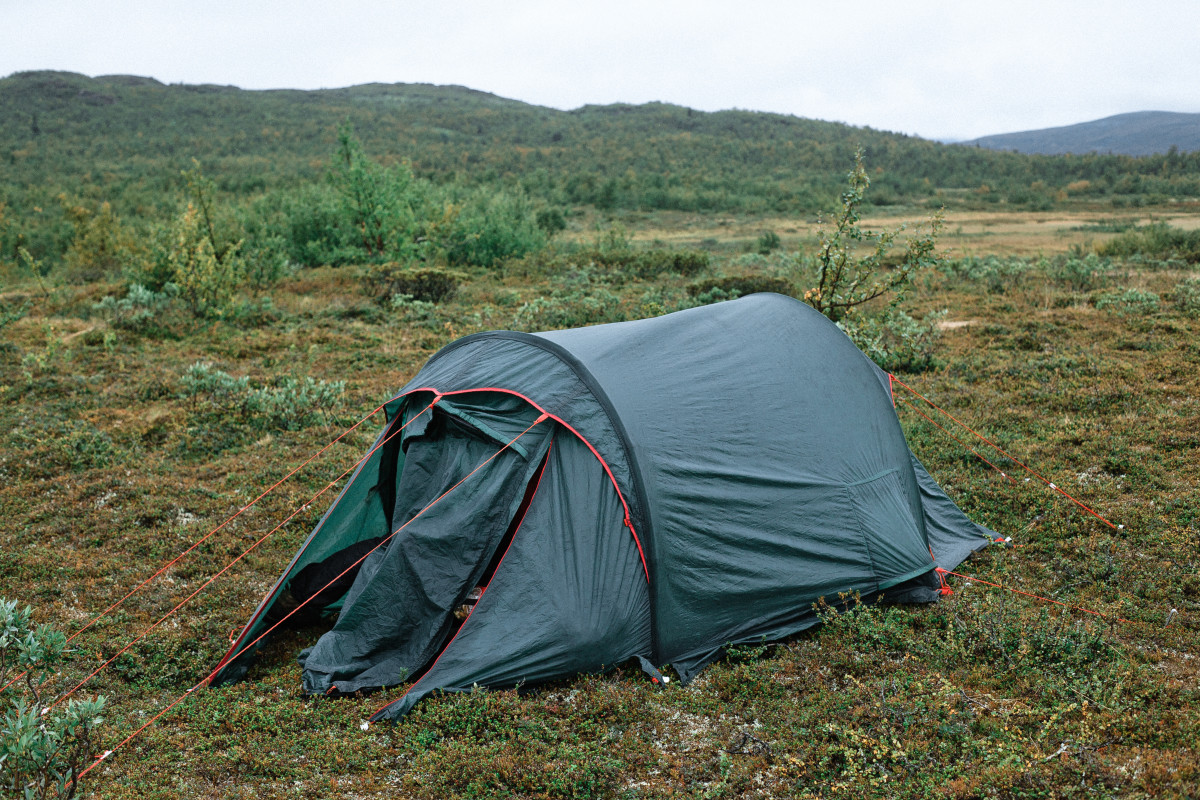 You might want to bring a tent or two. Make sure they pack down to a small size.