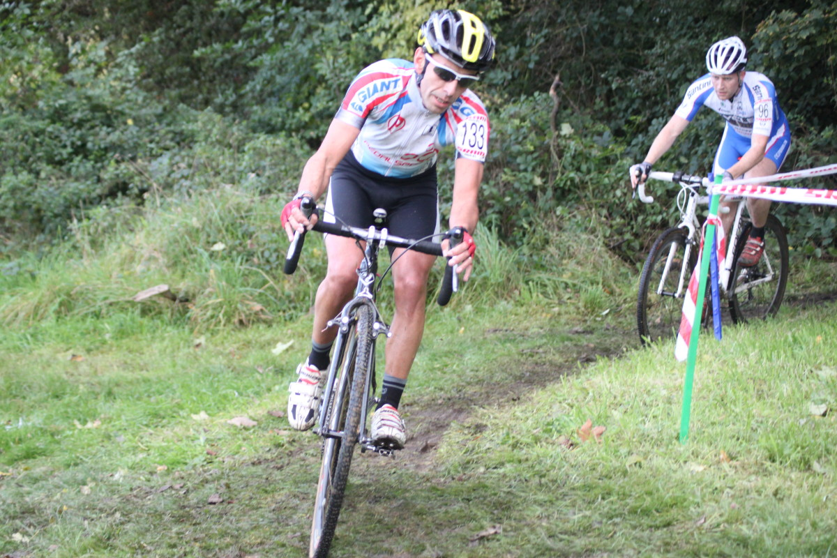 Cyclocross tires need to provide grip in the mud- particularly when cornering.
