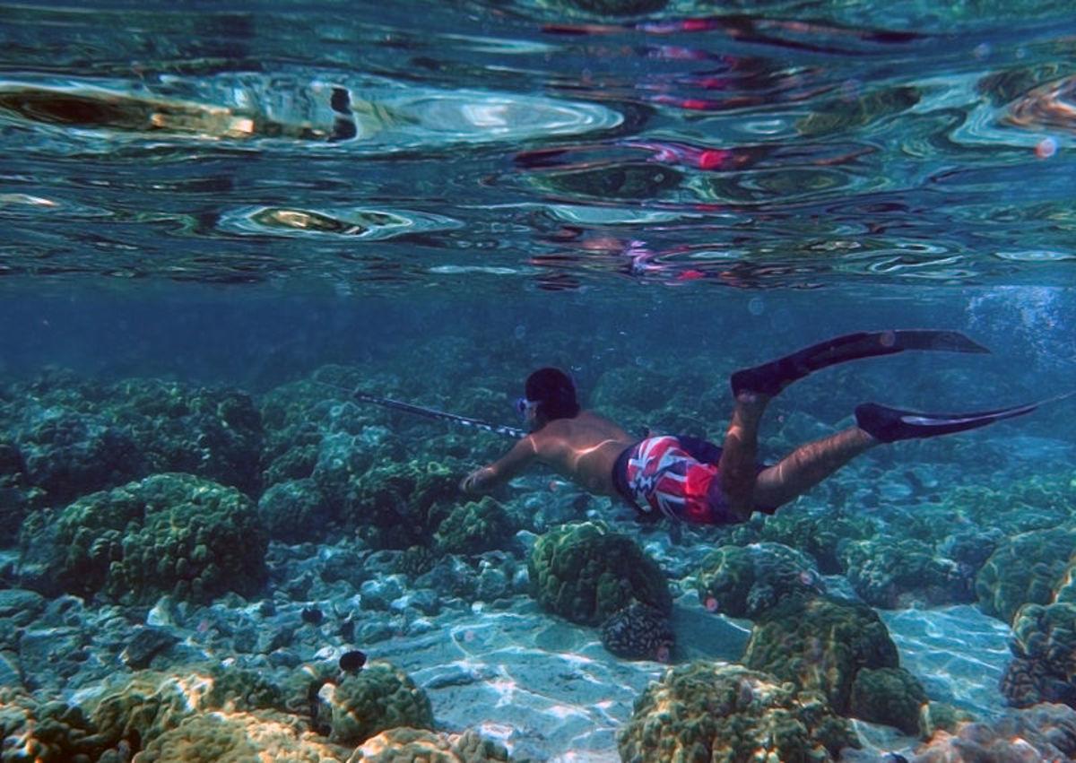 Spearfishing in Hawaii