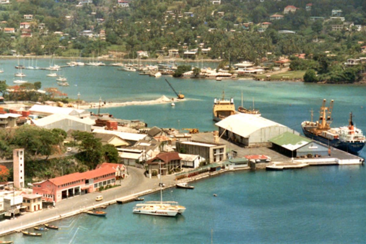 St. George's, Grenada, 1985