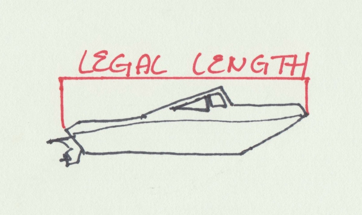 Legal boat length