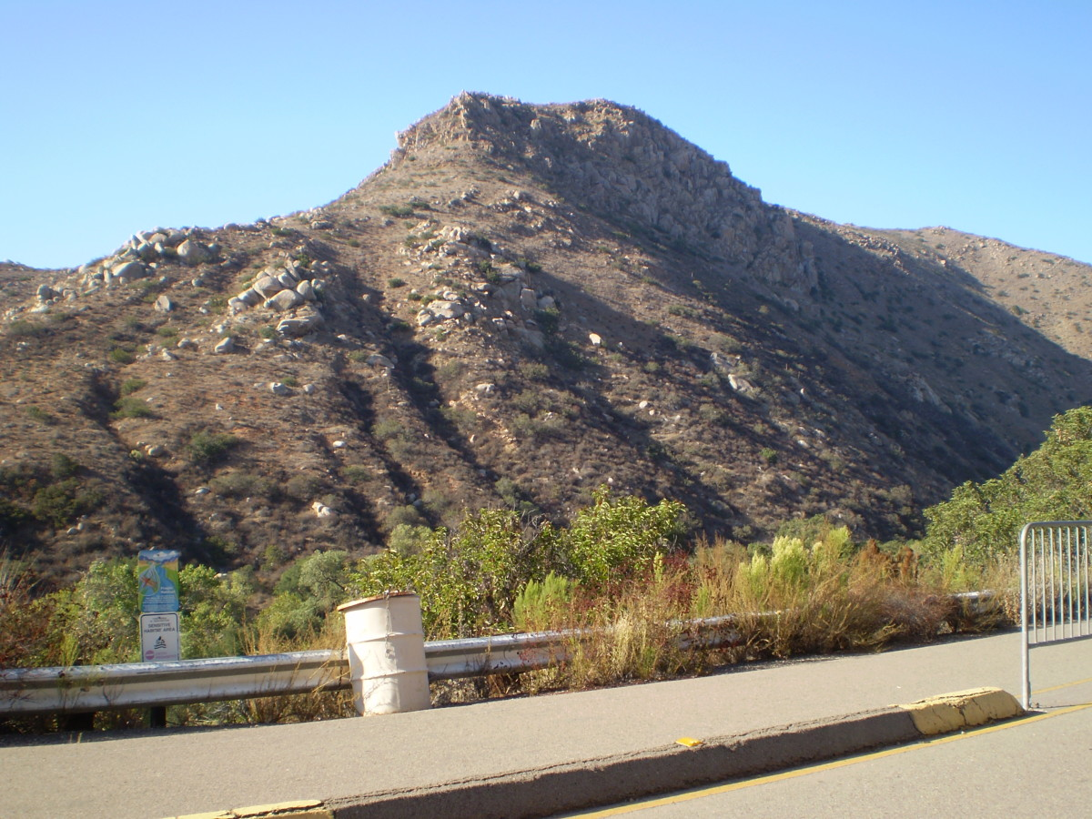 South Fortuna Mountain in Mission Trails Regional Park.