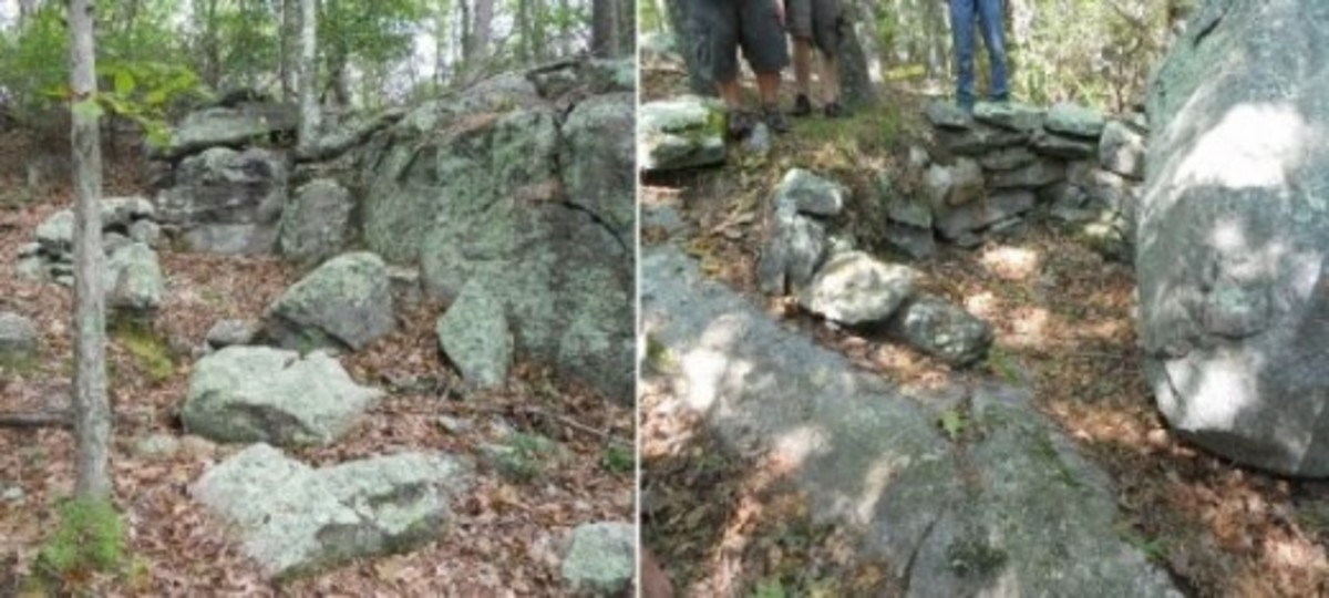 Stone structures, Gungywamp