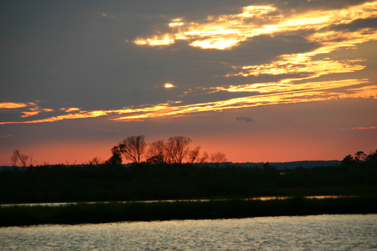 Sunset on the bay - Assateague National Park