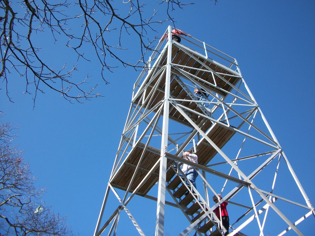 Here is a photo of the Fire / Observation Tower.