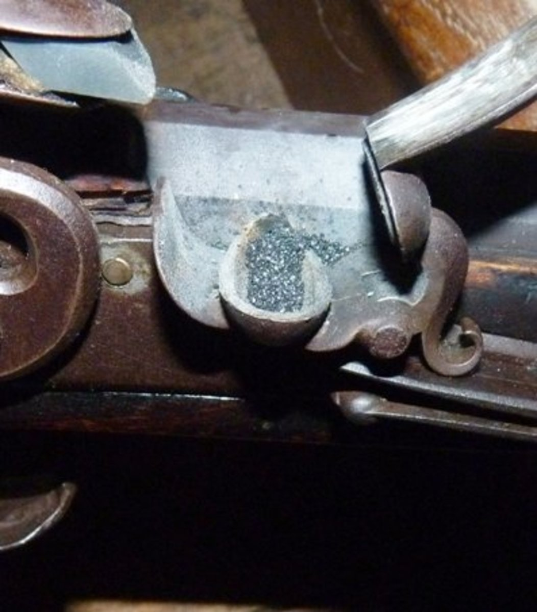 loading-and-firing-a-flintlock