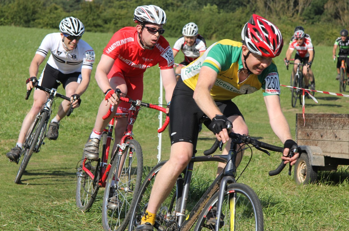 In Red - Cyclocross Racing On A Planet X Uncle John With Mavic Ksyrium Wheels And Challenge Grifo Pro Clincher Tires