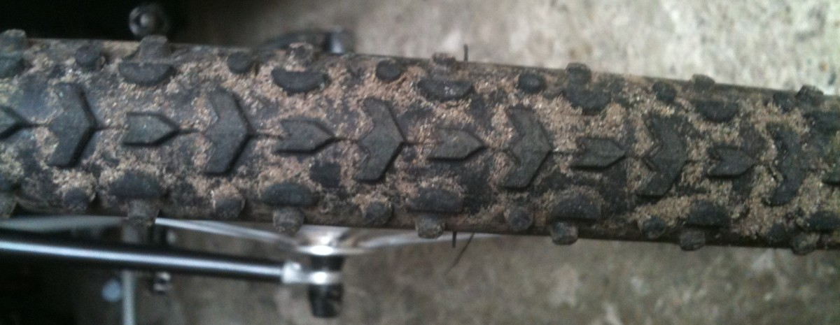 The Clements Tread Pattern From The Challenge Grifo Pro Clincher Cyclocross Tire