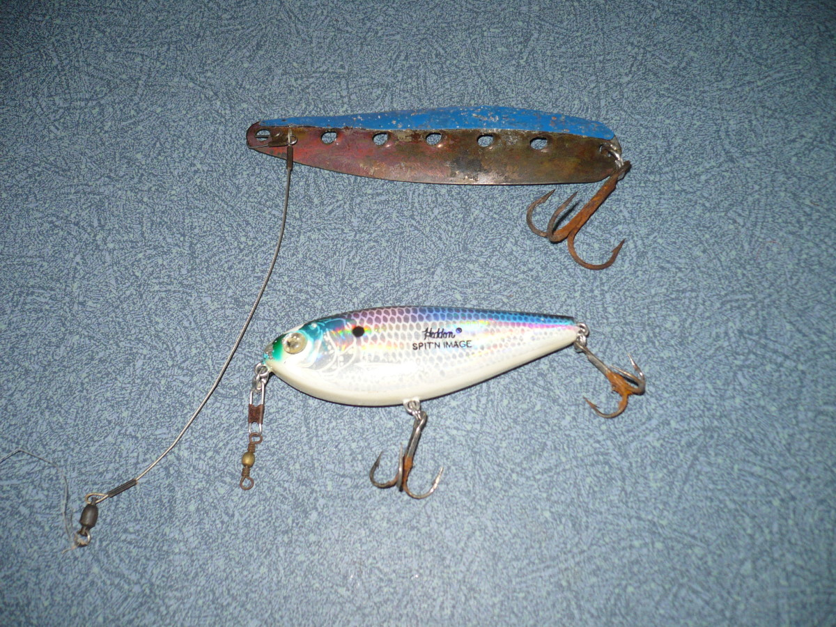 Salt water fishing lures