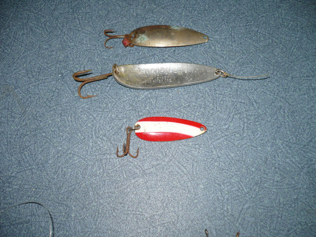Salt water fishing spoons