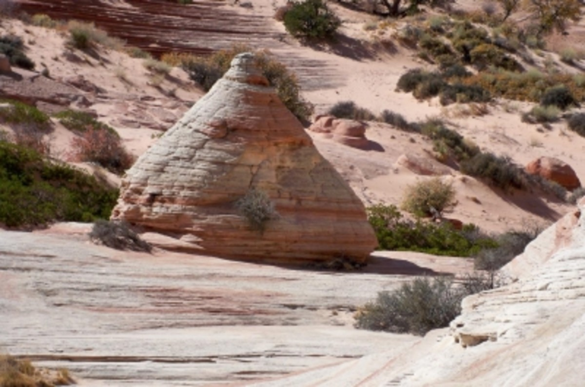 """Cone Head"" Rock -- or is it an alien spaceship?"