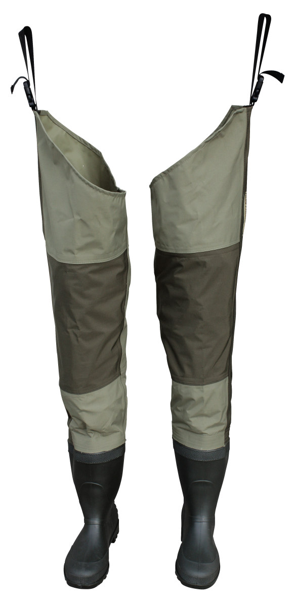 The different types of fishing waders a guide hubpages for Fishing waders with boots