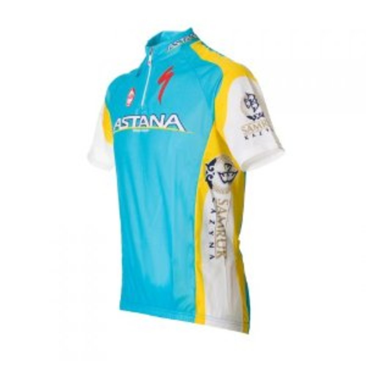The baby blue colourscheme that cyclists either love or hate- Team Astana
